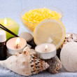 Stock Photo: Set for spa treatments