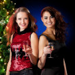 Christmas women — Stock Photo #4266006