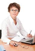 Mulher de negócios — Foto Stock