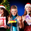Christmas women — Stock Photo #4345887