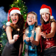Christmas women — Stock Photo #4345888