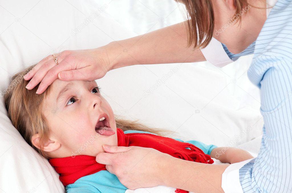 Как сделать больного ребенка 664