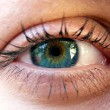Stock Photo: Beautiful eye of woman