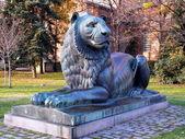 Anıt, lion, sofia, bulgaristan — Stok fotoğraf