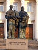 Cyril and Methodius. Sofia, Bulgaria — Stock Photo
