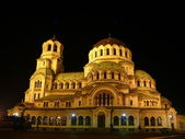Cathedral of Alexander Nevski. Sofia, Bulgaria — Stock Photo