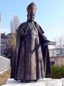 Monument of Pope John XXIII. Sofia, Bulgaria — Foto de Stock