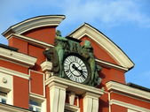 Clock in the roof. Sofia, Bulgaria — Stock Photo
