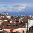 Roofs of Sofia in the spring. Bulgaria — Stock Photo