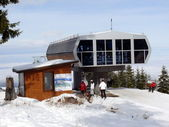 Ski resort Borovets. Bulgaria — Stock Photo