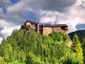 Famous Orava Castle — Stock Photo