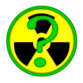 Nuclear energy issues — Stock Photo