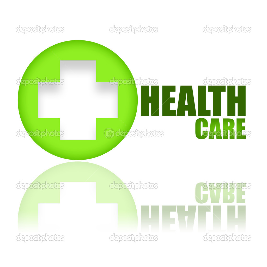 Key to health wellness concept illustration over white background — Stock Photo #4615130
