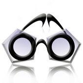 Creative eyeglasses — Stock Photo