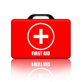 First Aid Medical Kit — Stock Photo