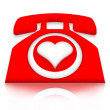 Love Calls — Stock Photo