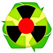Stock Photo: Nuclear icon