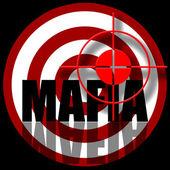 Hunting for Mafia — Stock Photo