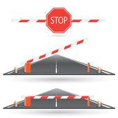 Stop — Vettoriale Stock