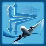 Plane — Stock Vector #3933847