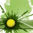 Tennis — Stockvectorbeeld