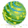 Royalty-Free Stock Vector Image: Green globe