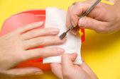 Manicure — Stockfoto