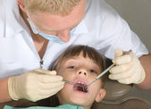 Dentist — Stock Photo
