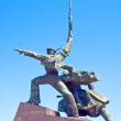 Monument to war in Sevastopol town — Stock Photo