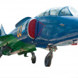 The Yakovlev Yak-38 - Stock Photo