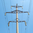 Stock Photo: Electrical tower