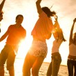 Party on beach — Stock Photo #4036870