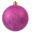 Violet christmas ornament . - Stock Photo