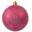 Red christmas ornament . - Stock Photo