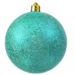 Green christmas ornament . — Stok fotoğraf