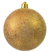 Gold christmas ornament . — Stock Photo