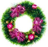 Weihnachtskranz — Stockfoto
