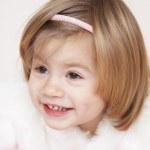 überrascht, kleine Prinzessin — Stockfoto