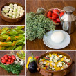 Stock Photo: Vegetables collage