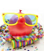 Funny carnival balloon — Stock Photo