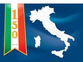 Italië 150 — Stockvector