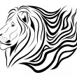 Lion, tattoo — Stock Vector #4592221