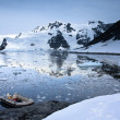 Boat in Antarctica — Stock Photo #4013496