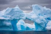 Obrovské ledovce v antarktidě — Stock fotografie