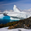 Foto de Stock  : Huge iceberg in Antarctica