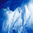 Blue Ice cave - Stock Photo