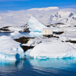 Icebergs in Antarctica — Stock Photo