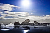 Antarctic night — Stock Photo