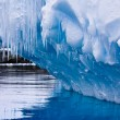 Antarctic iceberg — Stock Photo #4791002