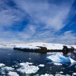 Yacht in Antarctica — Stock Photo #4798938